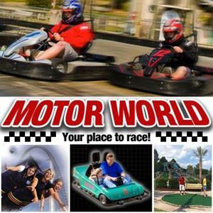 "Picture of Motor World- Go-Kart Rookie (racers up to 48"" tall)"